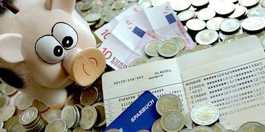 Sparbuch Sparen Geld Bank