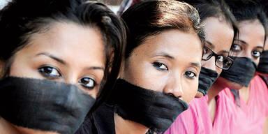 Indien Vergewaltigung Proteste