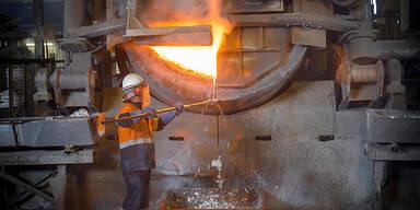 Metallverarbeitung Aluminium Schmelzofen