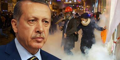 Tayyip Erdogan / Proteste