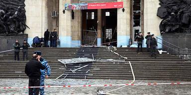 Mindestens 16 Tote bei Anschlag in Wolgograd