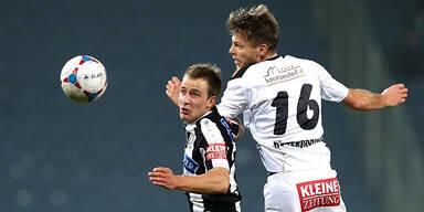 1:4-Pleite gegen WAC: Sturm Graz nur mehr Achter