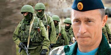 Putin / Soldaten / Krim