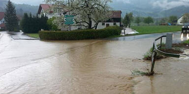 Schweres Unwetter im Bezirk Melk