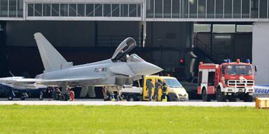 Eurofighter Notlandung Innsbruck