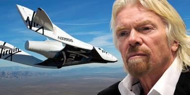 Nach Absturz: Jetzt spricht Branson