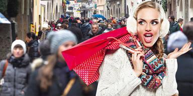 Shopping Weihnachten Advent