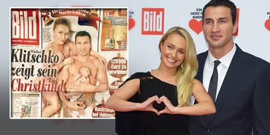 Hayden Panettiere Wladimir Klitschko Bild Baby Kaya