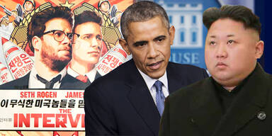 The Interview Barack OBAMA KIM Jong-un
