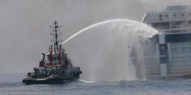 Brand auf Fähre: 6 Österreicher an Bord