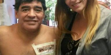 Maradona ließ sich
