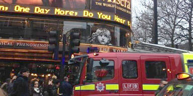 Musical-Aufführung in London evakuiert