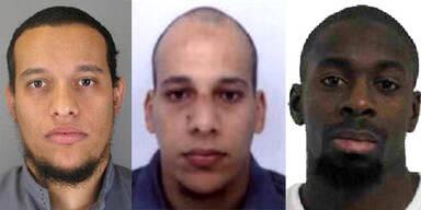 Paris-Attentat Charlie Hebdo Kouachi Coulibaly