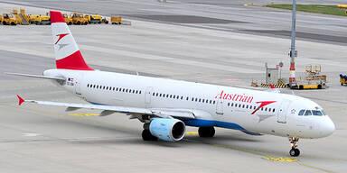 AUA Flugzeug A321