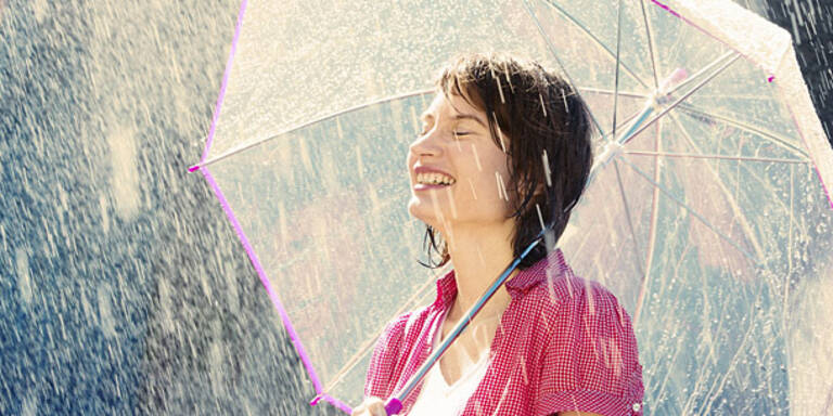 Mildes Herbstwetter bekommt Dusche