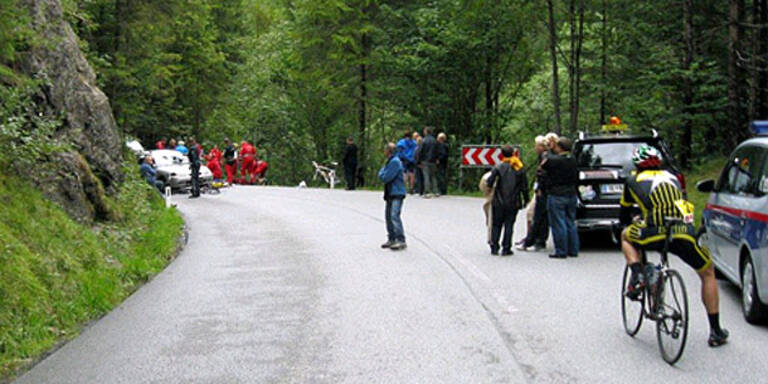 Todescrash bei Radrennen in Tirol