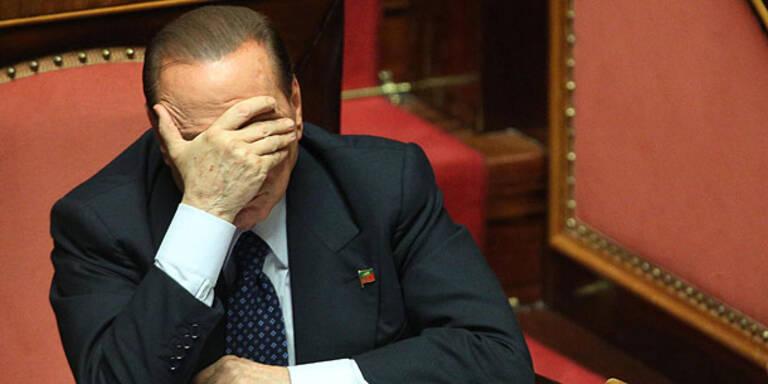Berlusconi: Entscheidung über Ausschluss vertagt