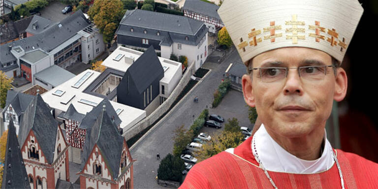 In Rom: Protz-Bischof schwelgt im Luxus