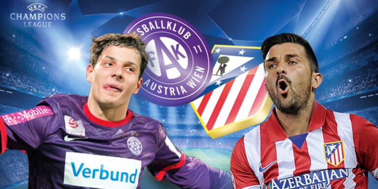 Tickets für Austria vs. Atlético Madrid gewinnen