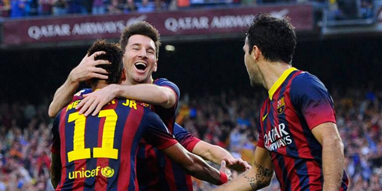 2:1! Barcelona triumphiert im Clasico