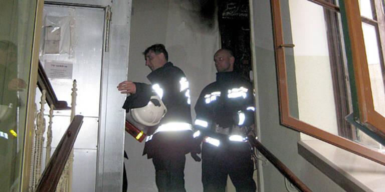 Feuer im Wiener Servitenviertel ausgebrochen