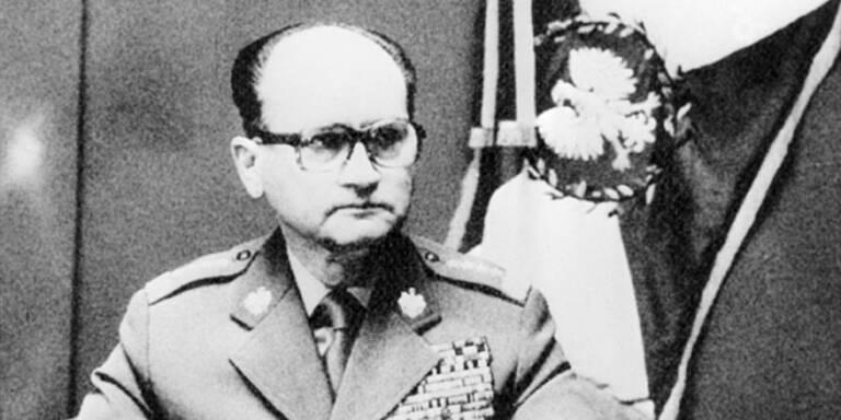 Polens Ex-Staatschef Jaruzelski ist tot