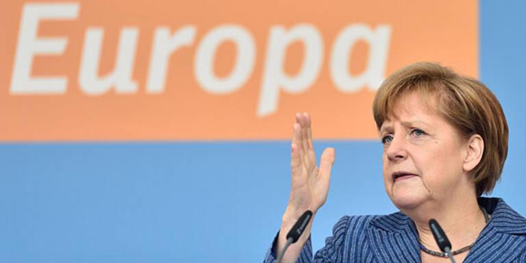 Deutschland: Merkel verliert, EU-Gegner stark