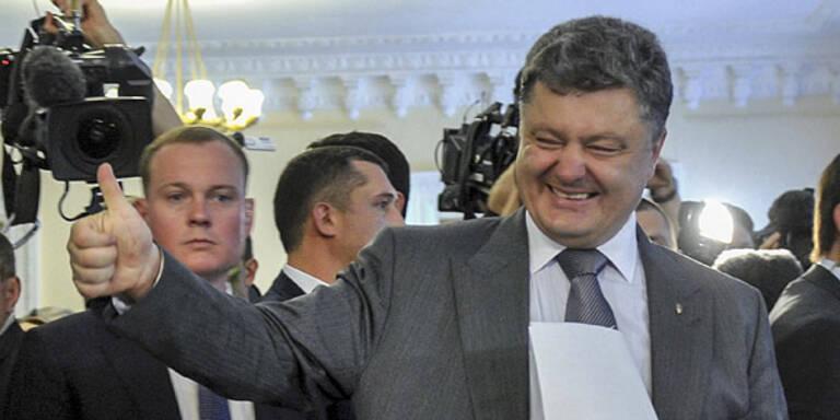 Ukraine: Poroschenko-Angelobung am 7. Juni