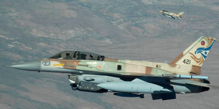 Israel bombardiert Ziel in Gaza