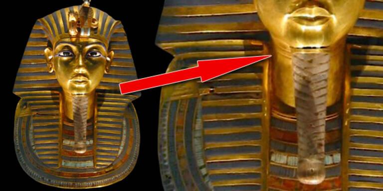Aufregung um Bart von Pharao Tutanchamun