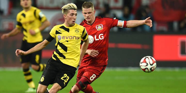 BVB bei Kampl-Debüt 0:0 in Leverkusen