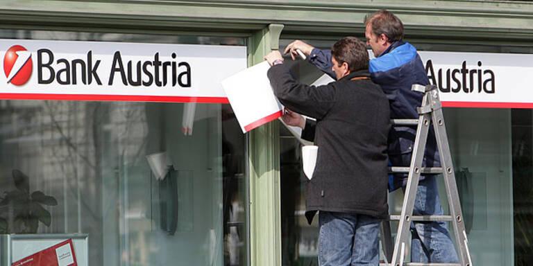 Bank Austria mit 678 Mio Verlust