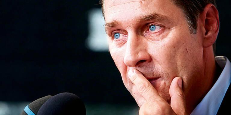 Strache sagt FPÖ-Putsch ab