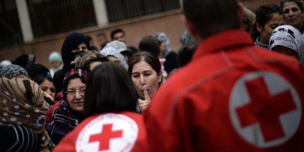 Sieben Rot-Kreuz-Mitarbeiter im Krisengebiet entführt