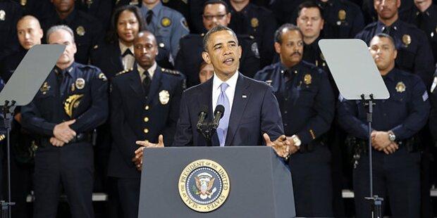 Obamas Rednerpult gestohlen: 7 Jahre Haft