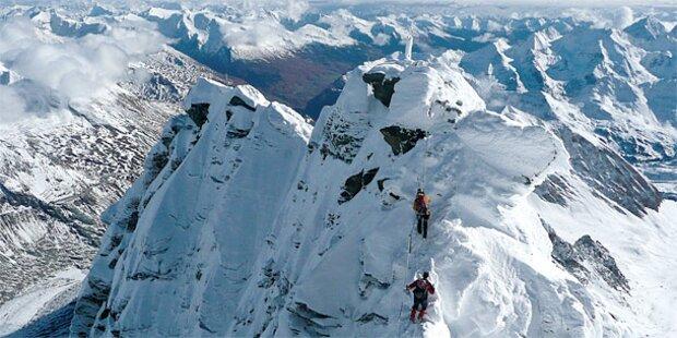 Bergsteiger stürzt 600 Meter ab: tot