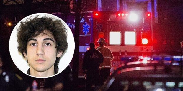 Gefasster Boston-Bomber in ernstem Zustand