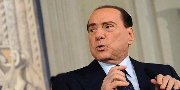 Berlusconi-Partei protestiert gegen VP-Plakat