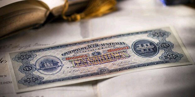 Erster Geldschein soll Millionen einbringen