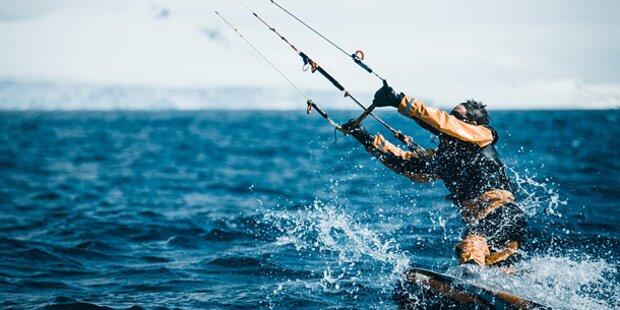 Österreichischer Kite-Surfer schwer verletzt