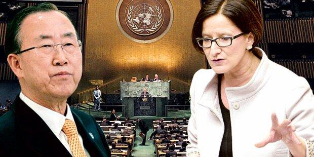 Mikl-Leitner: Treffen mit UNO-Chef