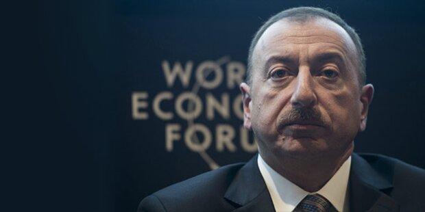 Aserbaidschans Präsident in Österreich