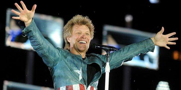 Bon Jovi beschallt Madrid ohne Gage