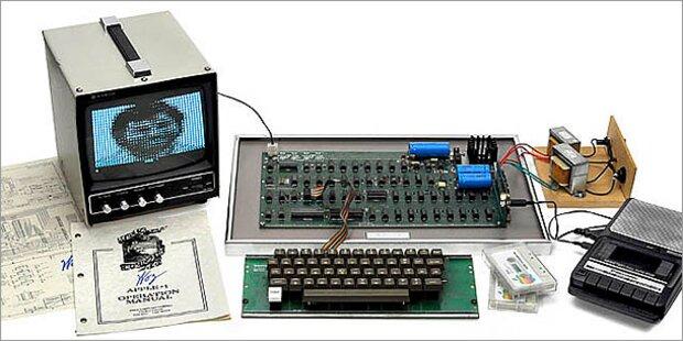Halbe Million Euro für ersten Apple-Computer