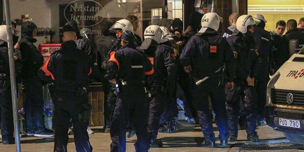 Schweden: Randale eskalieren