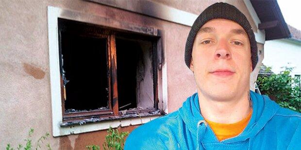 Feuer in Wohnhaus: Nachbar rettet Ur-Oma
