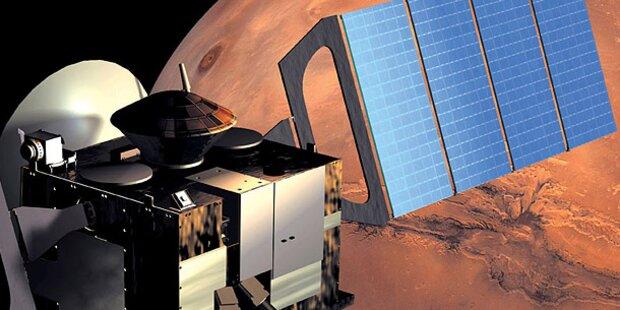 Raumsonde erstellt 3D-Karte des Mars