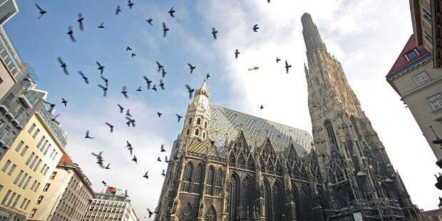 Vandalismus-Serie in Wiener Kirchen