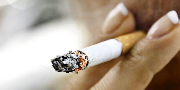 Rauchen macht Sie dick