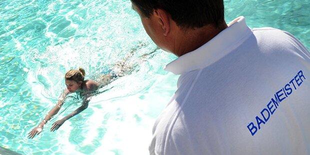 Kleines Mädchen nach Badeunfall reanimiert